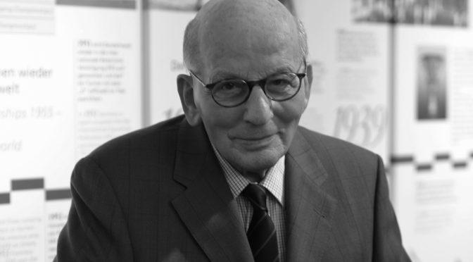 Trauer um Hans Günter Winkler